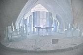 Ice chapel, Ice Hotel, Quebec, Canada