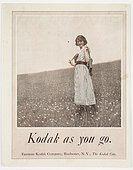 Kodak as you go', 1921.