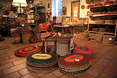 Shop selling the scourinerie of Nyons, Provence, France