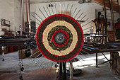 Machine used to make a scourtin, Nyons, Provence, France