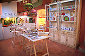 Pottery shop, Martine Gilles and Jaap Wieman, Village of Brantes, Provence, France