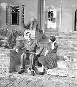 First pictures of General and Madame de Gaulle in their new country home - 8-October-1941