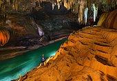 Sao mateus Cave Cerrado Biome Brazil.