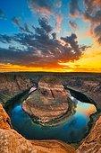 Horseshoe Bend, Arizona, Usa.