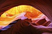 Lower Canyon, Antelope Canyon, Page, Arizona, Usa