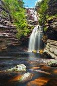 Sossego Waterfalls, Lençois, Brazil.