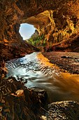 Terra ronca cave Cerrado Biome Brazil.