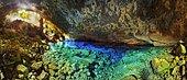 Gruta azul 180º Bonito MS Brazil.
