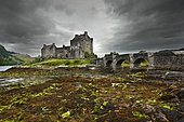 Eilean Donan Castle, Loch Alsh, Scotland, United Kingdom, Europe