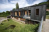 Nature house, Espace Nature et Culture, hamlet of Chateau Lambert, Haut du Them, Haute Saone, France