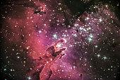 Pillars of creation, La Silla ESO Observatory, Atacama, Chile