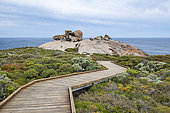 Remarkable rocks in the Flinders National Park Chase, Kangaroo island, South Australia