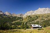 Village of Ricou, Névache, Alps, France