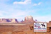 Monument Valley Site, Navajo Tribal Park, Utah, USA