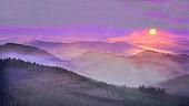 Peaks of Northern Vosges, Regional Natural Park of Northern Vosges, France