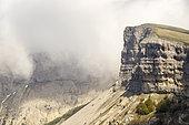 Cliffs of the Font d'Urle Plateau, Sensitive Natural Area, Vercors Regional Natural Park, France