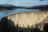 Hydroelectric dam of Lake Yaté. New Caledonia.