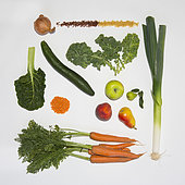 Vegetables from south america acclimatized in France.