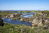 Granitic formations, natural monument of Los Barruecos, Extremadura, Spain