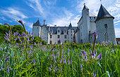 Rivau Castle, Lémeré, Indre-et-Loire Department, The Loire Valley, France
