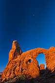 North and South Window, Arches National Park, Colorado Plateau, Utah, Grand County, Usa