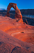 Delicate Arch, Arches National Park, Colorado Plateau, Utah, Grand County, Usa