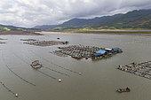 Fish farm, Xiapu County, Fujiang Province, China