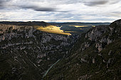 Great Verdon Canyon, La-Palud-sur-Verdon, Verdon Regional Nature Park, Alpes de Haute Provence, France