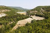 Retention of Mane, Luberon Regional Nature Park, Alpes de Haute Provence, France
