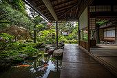 Nomurake's samurai garden house, Kanazawa, Japan