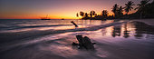 Sunset on Nosy Iranja, a beautiful islet of Madagascar