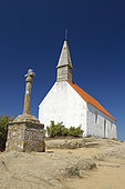 Calvary and Saint-Michel chapel, Bréhat island, Côtes-d'Armor, Brittany, France