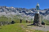 Vierge du cirque de Troumouse, Pyrénées, France
