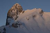 Mount Gardy in the Valaisan Alps, Switzerland.