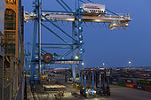Container Port of Fos-sur-Mer, France