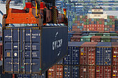 Loading a container ship, Port Kelang, Malaysia.
