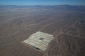 Noor solar power station under construction. The largest solar power station in the world Ouarzazate, Morocco