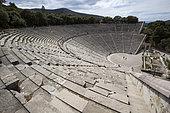 Epidaurus Theater, Peloponnese, Greece.