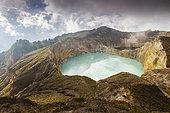 Kelimutu volcano. Kelimutu National Park. Flores island. Indonesia, Asia.
