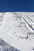 Mechanic lift station of the two alps, Alps, France