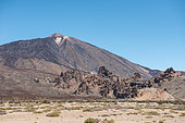 Road to the Pico del Teide, Tenerife, Canary Islands, Spain