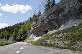 Défilé d'Entre-Roches, Doubs, Franche-Comté, France