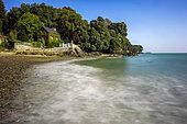 Petit Porçon Beach, Saint-Méloir-des-Ondes, Emerald Coast, Ille-et-Vilaine, Brittany, France