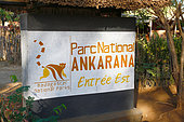 Ankarana NP, eastern entrance of the Tsingy, ancient fossil coral reef, NP of 18,220 ha over 35 km, Northwest Madagascar