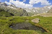 Gioberney Glacier Circus, La Chapelle-en-Valgaudemar, Ecrins National Park, Hautes-Alpes, France