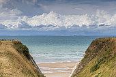The English coast from Escalles, Hauts de France, France