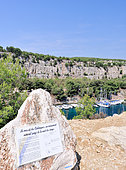 Calanque of Port Miou, commune of Cassis, Provence, France