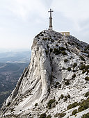 Cross of Provence, Massif of Sainte Victoire, Provence, France