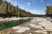 Great River, Salmon River, Chaleur Bay, Gaspesie, Quebec, Canada