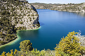 Lake Esparron, Verdon Regional Nature Park, Alpes-de-Haute-Provence, France